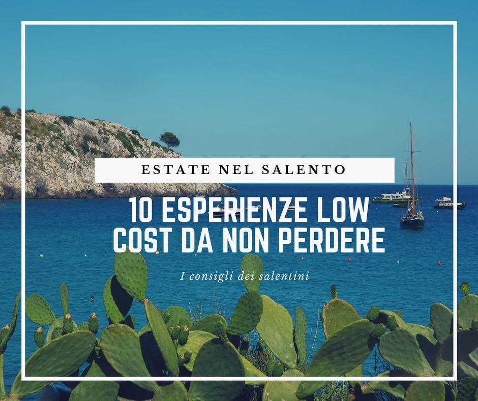 Estate nel Salento: 10 esperienze low cost da non perdere
