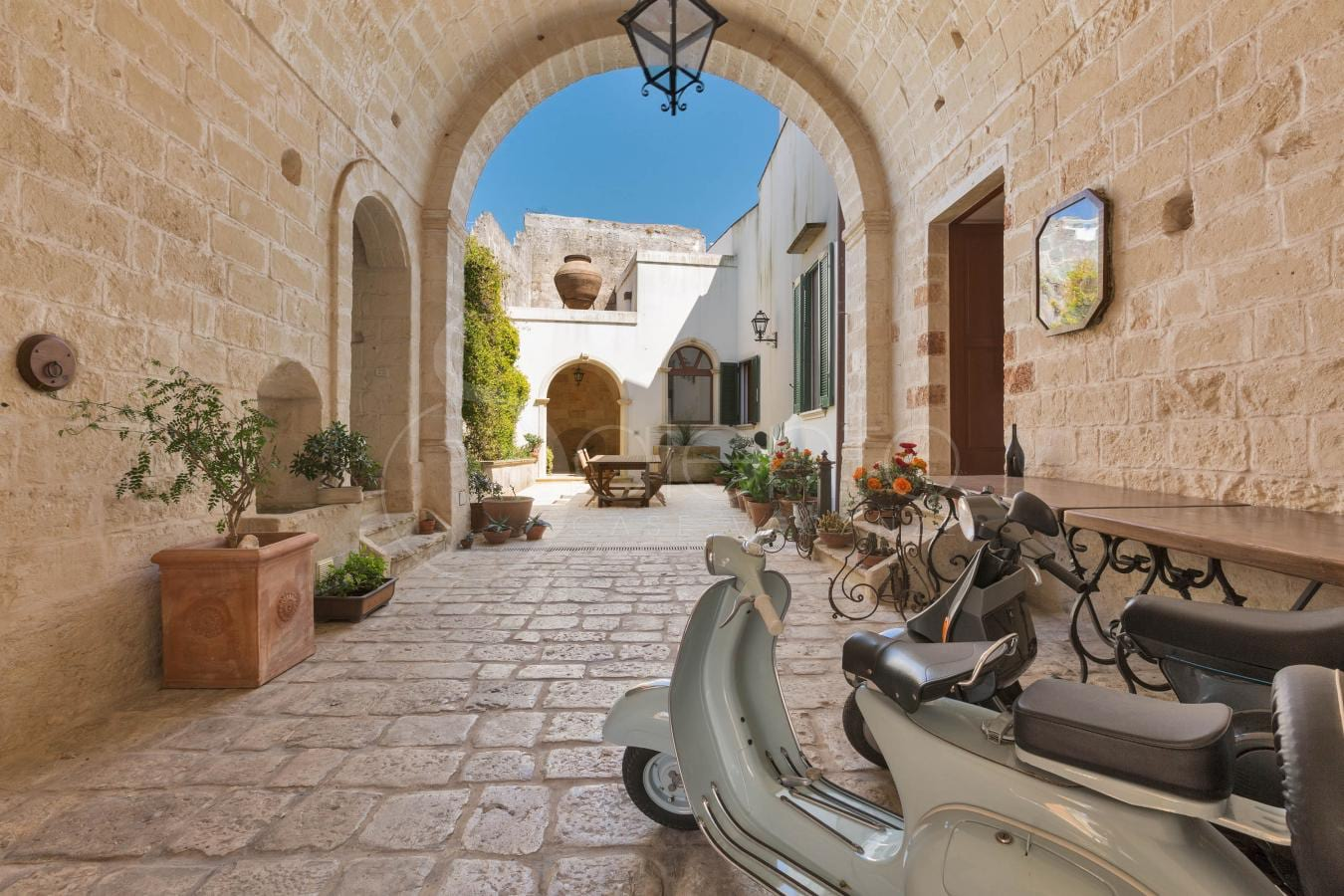 10 typical houses in the historic centers of Salento