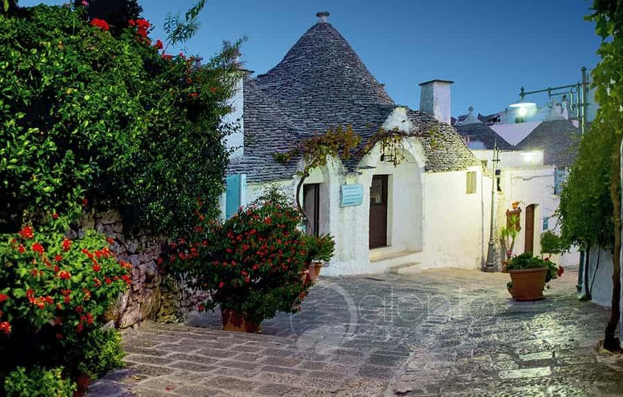 casa vacanza ad Alberobello nei trulli