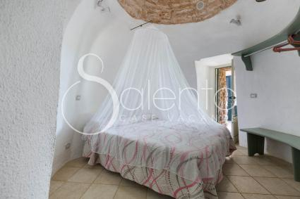 Trullo 1 with bedroom for an authentic vacation in Salento
