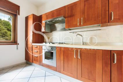 La cucina della casa vacanze in affitto nel Salento