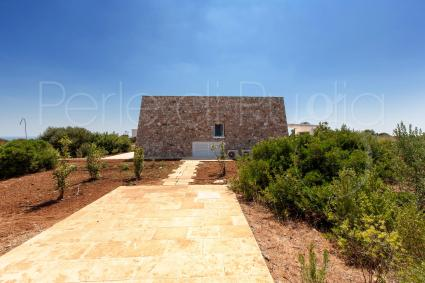 The architectural style is a tribute to the typical Salento buildings