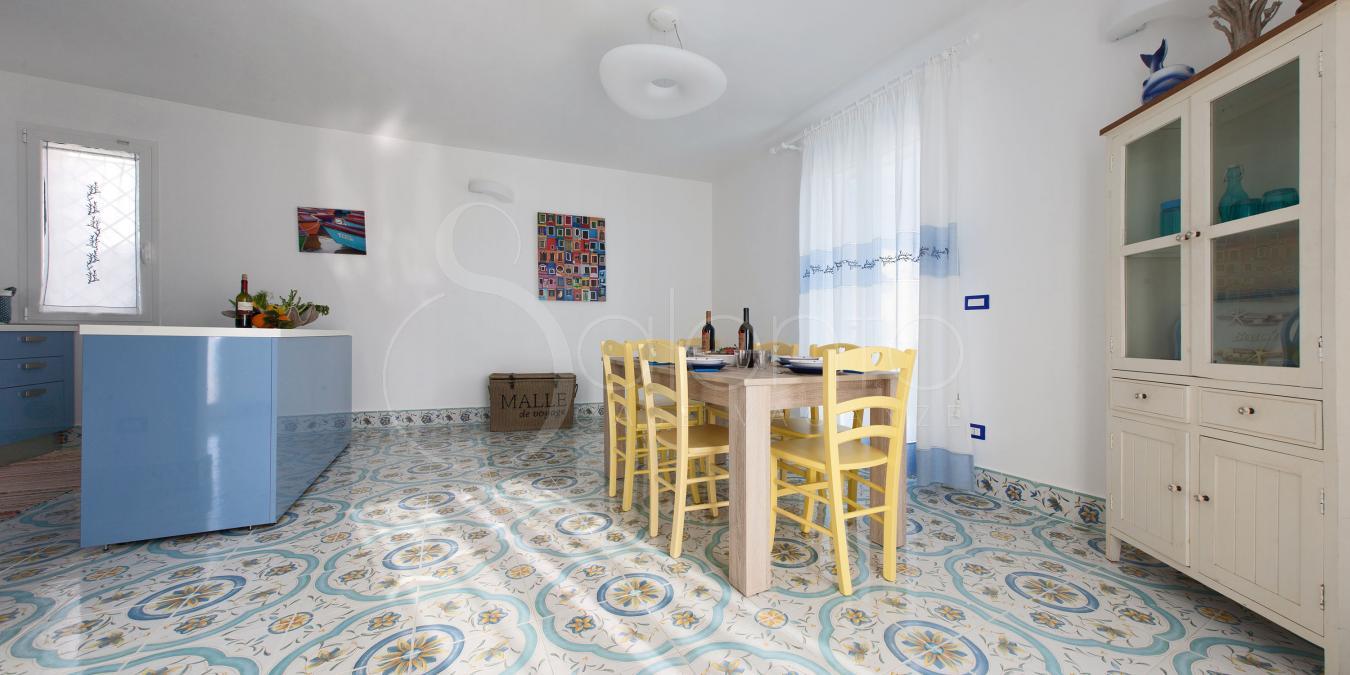 Villa Fronte Mare a Marina di Pescoluse: La Dimora Turchese