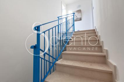 La casa vacanze si sviluppa su due livelli