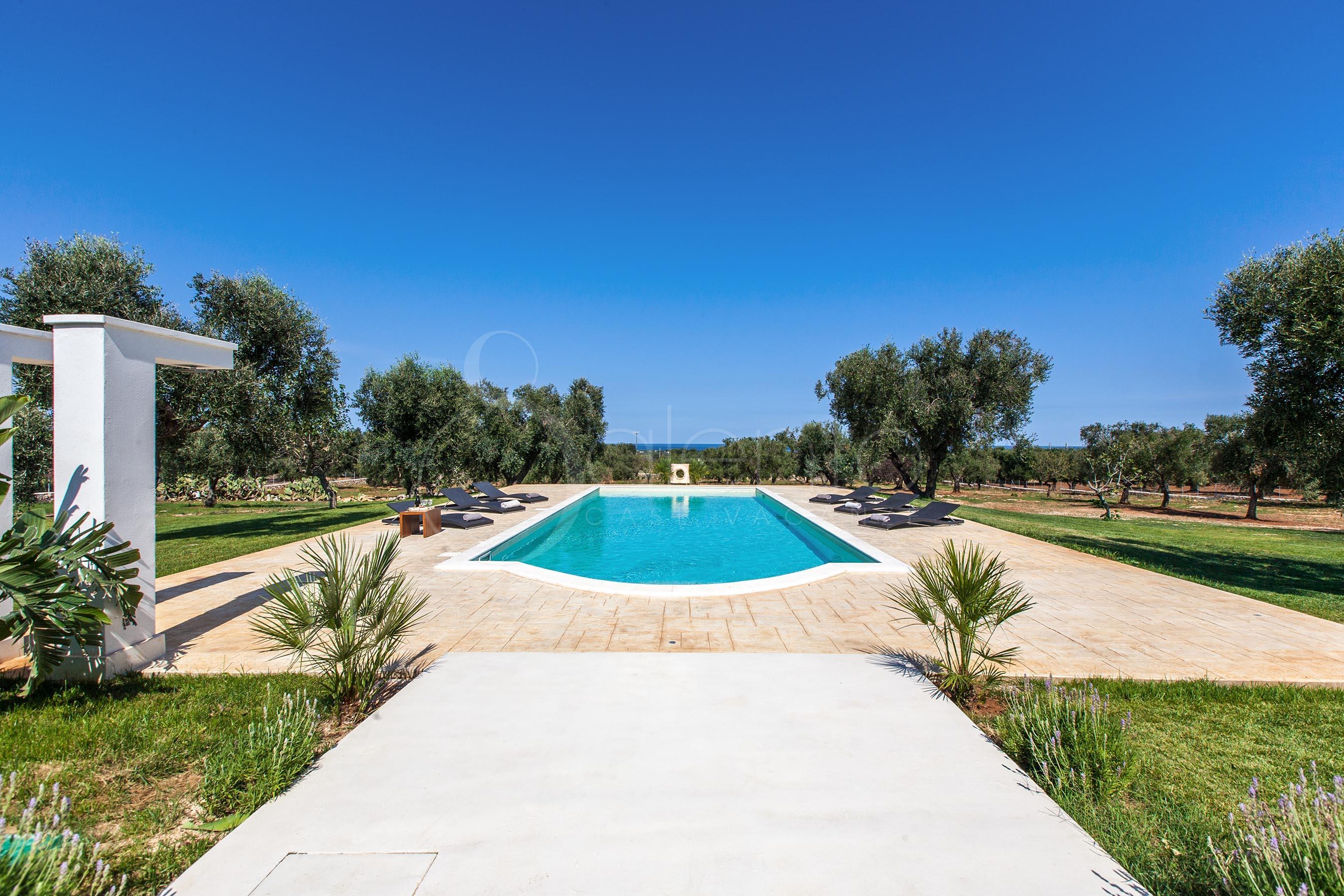 Monolocale con piscina vista mare in puglia - Residence puglia mare con piscina ...