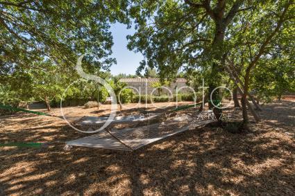 Le amache in giardino per rilassarsi al fresco durante le vacanze in Puglia