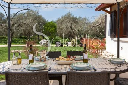 The holiday home for rent in the Otranto area. Ideal for 6 people on holiday in Salento