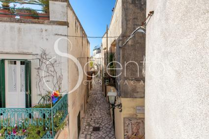 The typical alleys of Otranto