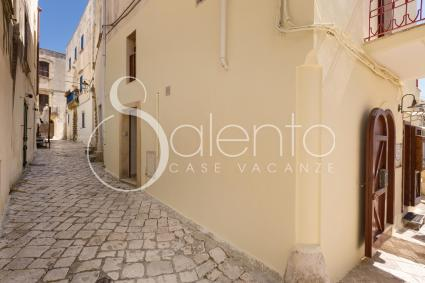 A two-bedroom apartment in the old town centre of Otranto