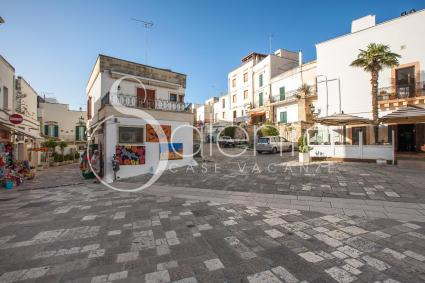 The beautiful old town centre of Otranto