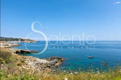 The coast of Leuca, within walking distance from Vico Porcinara