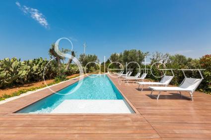 Villa con piscina per vacanze in Puglia