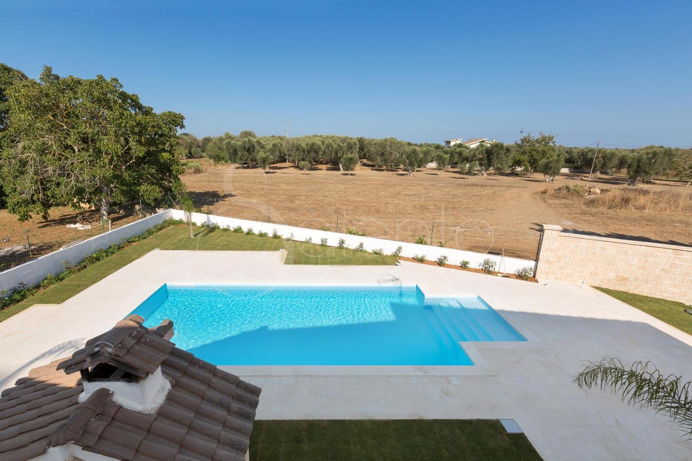 Attico all interno di una villa con piscina a ruffano gallipoli - Attico con piscina ...