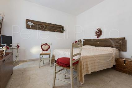 La camera matrimoniale 1, pittoresca nella sua semplicità