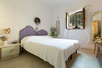 La camera matrimoniale 2 del trullo per vacanze in Puglia