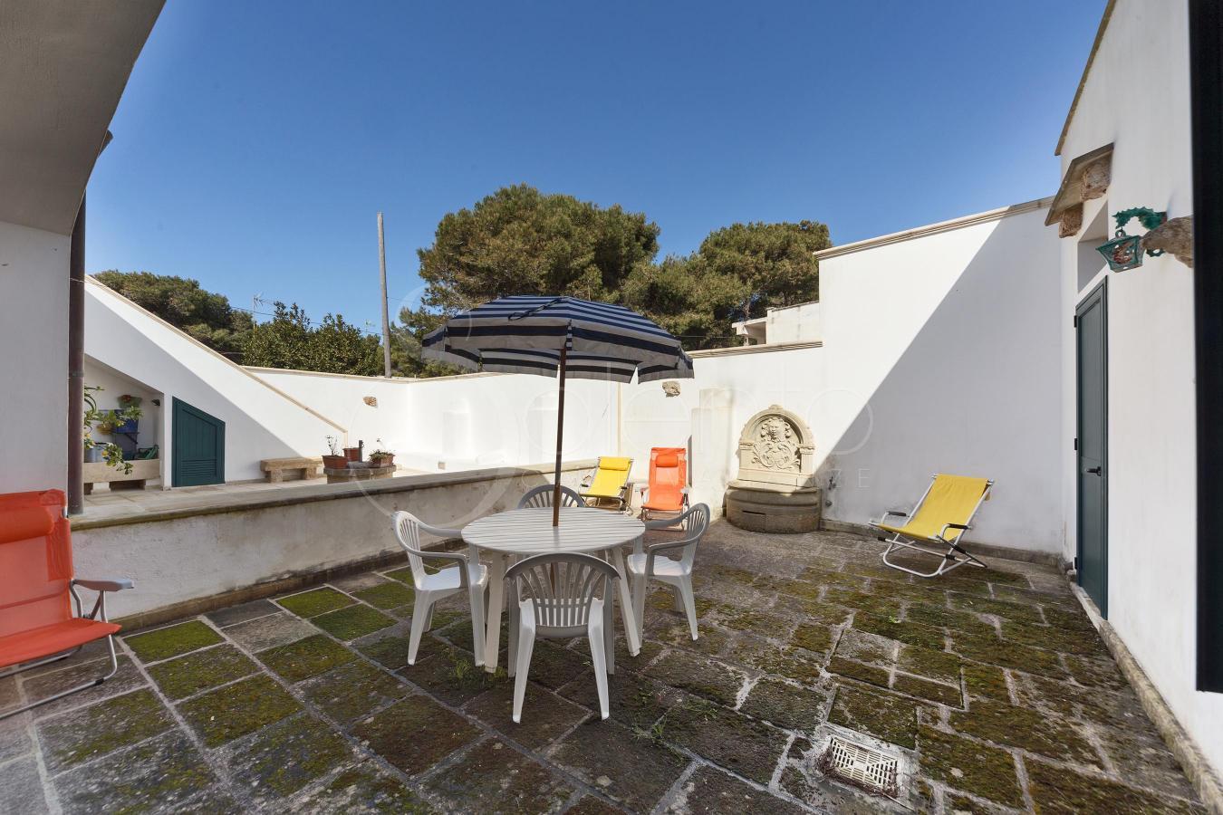 Casa sul mare per vacanze nel salento a torre suda vicino - Bagno coi delfini ...