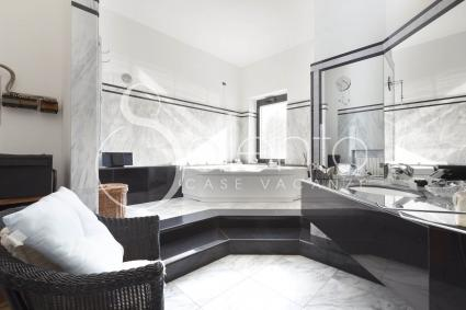 The bathroom with jacuzzi