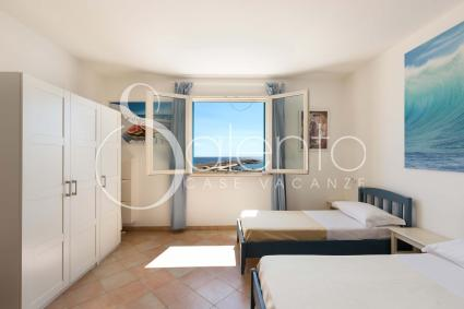 bedroom with view on Leuca