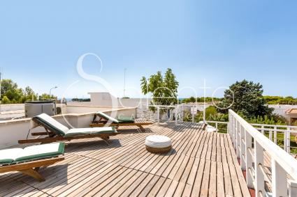 Panoramic view and solarium