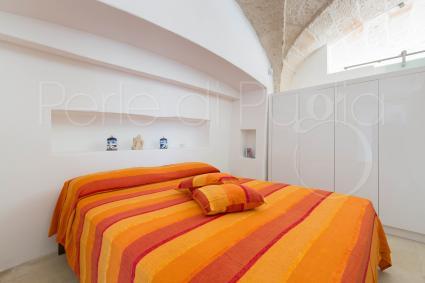 Nel loft vi è una camera da letto matrimoniale, con particolare volta