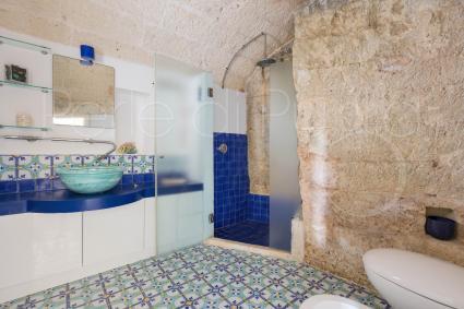 Bellissimo il bagno della villetta per vacanze vicino al mare del Salento