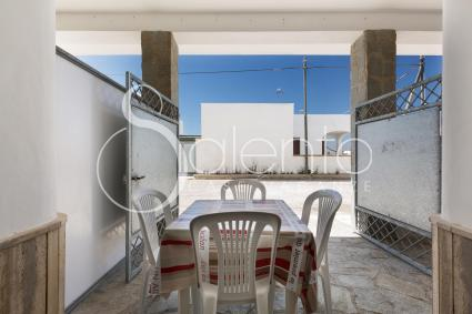 small verandah at the front