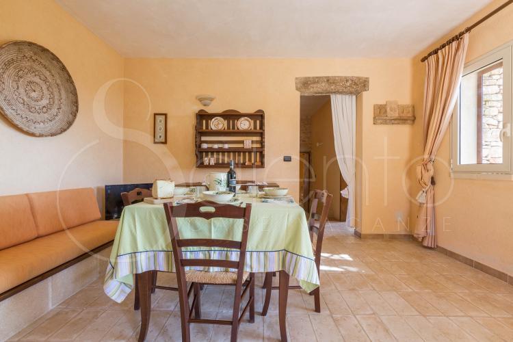 trulli et pajare - San Gregorio ( Leuca ) - Masseria Colosso - Camuffa