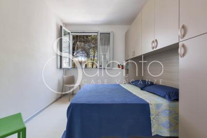 La camera matrimoniale 2 della villa per vacanze a Nardò
