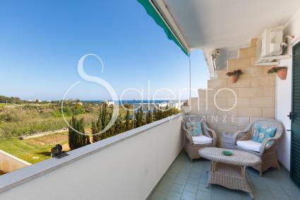 La bellissima vista sulla baia di Otranto