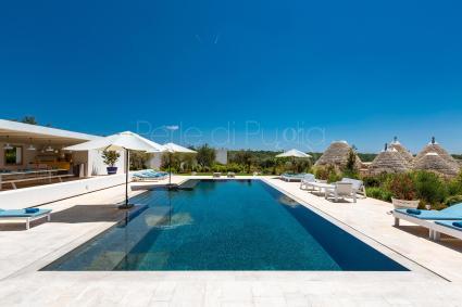luxury villas - Ostuni ( Brindisi ) - Le Ali Bianche (luxury top design villa)