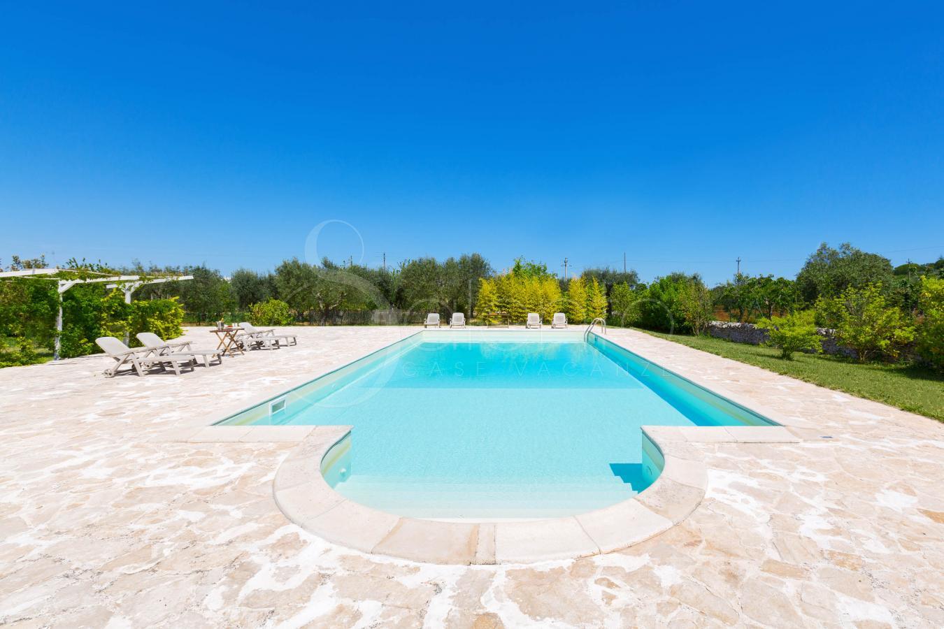 Trulli con piscina per vacanze in puglia ad alberobello - B b con piscina ...