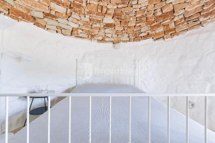 Il bagno doccia del Trullo per vacanze nel Salento a Novaglie