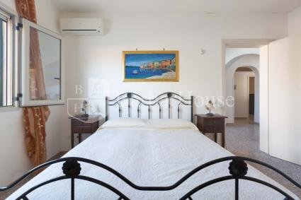 Master bedroom with air conditioning
