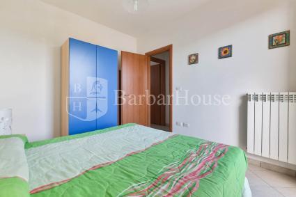 La camera matrimoniale, nella casa vacanze sul mare del Salento