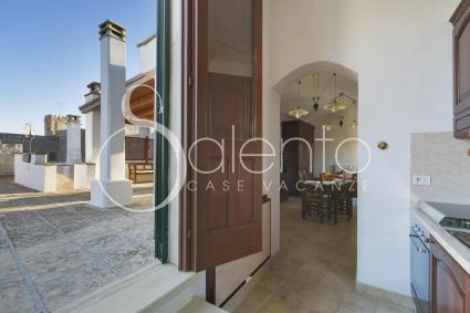 Ferienhaus - Diso - Spongano ( Otranto ) - Palazzo Zara - Attico