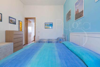 La camera da letto tripla, semplice e funzionale
