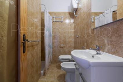 Il bagno doccia della casa