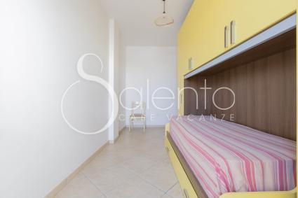 The double room of the ideal holiday home for families, by the sea of Salento