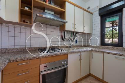 Kitchen with electric oven and dishwasher
