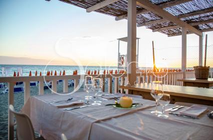 Trattoria by the beach