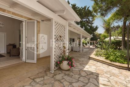 La camera matrimoniale della casa vacanze sulla spiaggia con bagno en suite