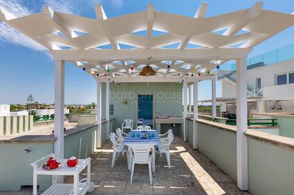 The seafront holiday home for rent in Gallipoli