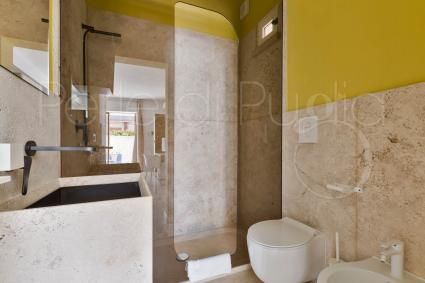 Third design bathroom of the villa with pool for rent
