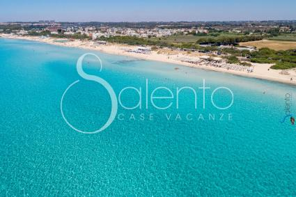 The beautiful Baia Verde seen from the drone