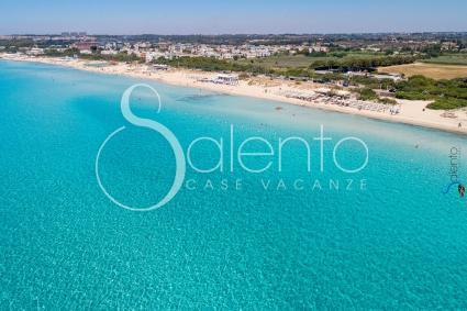 La bellezza delle spiagge di Baia Verde, vista drone