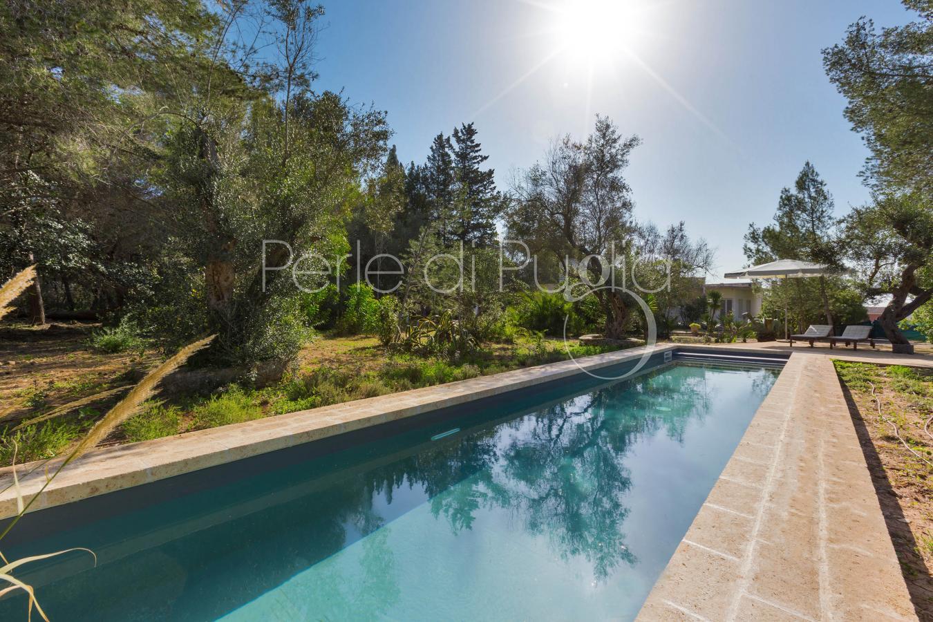 Villa vacanze con piscina zona gallipoli magia del salento - Villa con piscina salento ...