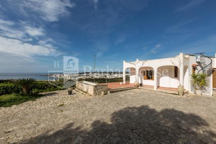 The villa in Leuca with view on the sea