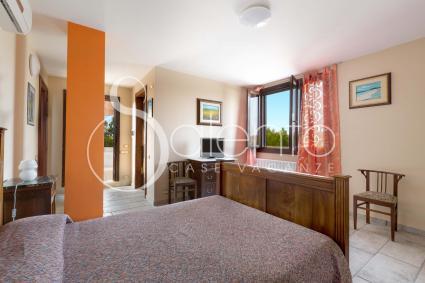 La camera da letto per due persone a cui si può abbinare una culla