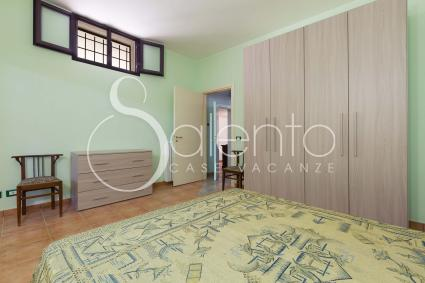 The double room of the holiday home in Salento