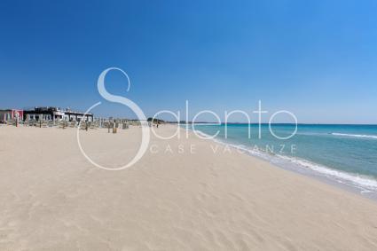 La bellissima spiaggia di Gallipoli
